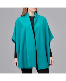 Ultimate Wool Swing Cape - Teal