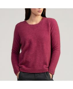 Possum Relaxed Sweater - Magnolia