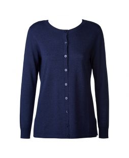 Merino New Brilliant Cardigan Midnight