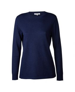Merino Iconic Crew Sweater Midnight