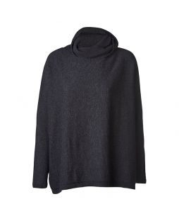 Possum Allora Jumper Light Charcoal