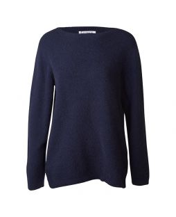 Possum Hamilton Crew Neck Sweater Navy