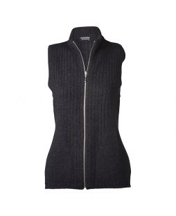 Possum Kingscliffe Vest Light Charcoal