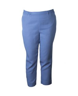 Tencel Cropped Pant Denim Blue