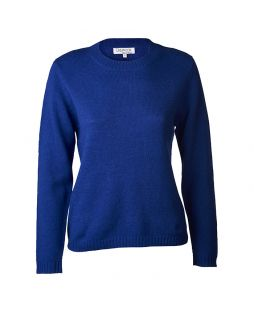 Lambswool Sweater Royal Blue