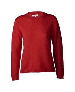 Lambswool Sweater Red