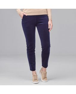 Cotton Mini Corduroy Pant Navy