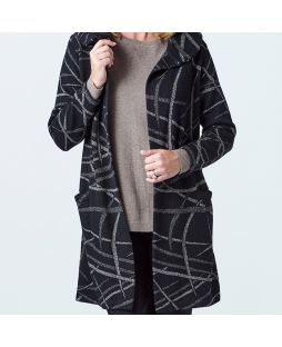 Alpaca Veronika Coat Black