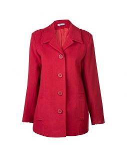 Merino Stellar II Coat Red