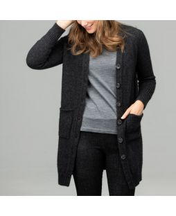 Possum Robe Longline Cardigan