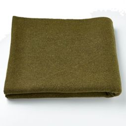 Olive Personal Protection Wool Blanket