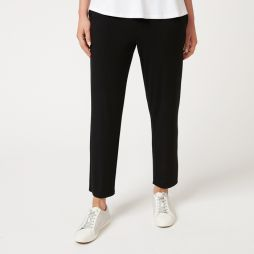 Bamboo 7/8 Length Relaxed Pant - Black