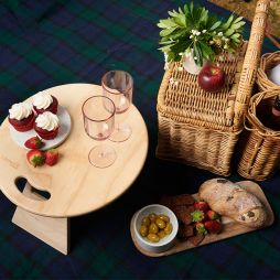 Portable Round Picnic Table