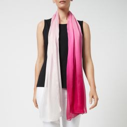 Ombre Silk Shawl Orchid