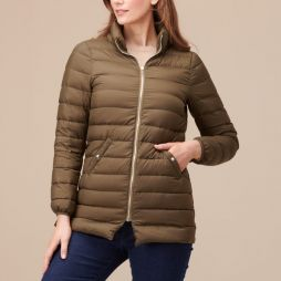 3 in 1 Feather Down Jacket - Olive