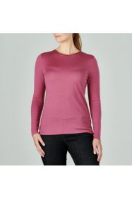 Merino Emily Crew Top Heather