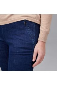 Regular Length Straight Leg Denim Pant - Indigo
