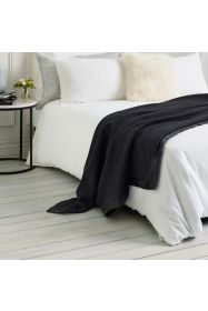 Hobart Wool Blanket Charcoal