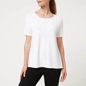 Bamboo Short Sleeve T-Shirt - White