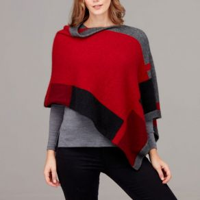 Empress Possum Poncho Redcurrent