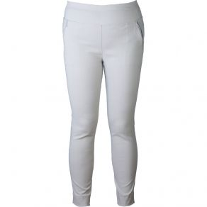 Slim Stretch Cropped Pant White