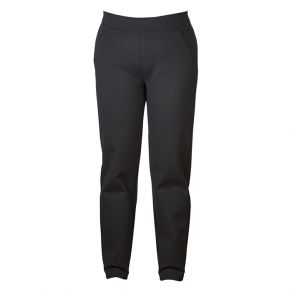 Cotton Ponti Zip Detail Pant Black