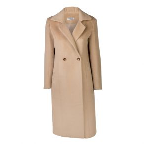 Alpaca Wool Longline Coat