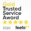 2020 Feefo Gold Trusted Service Award