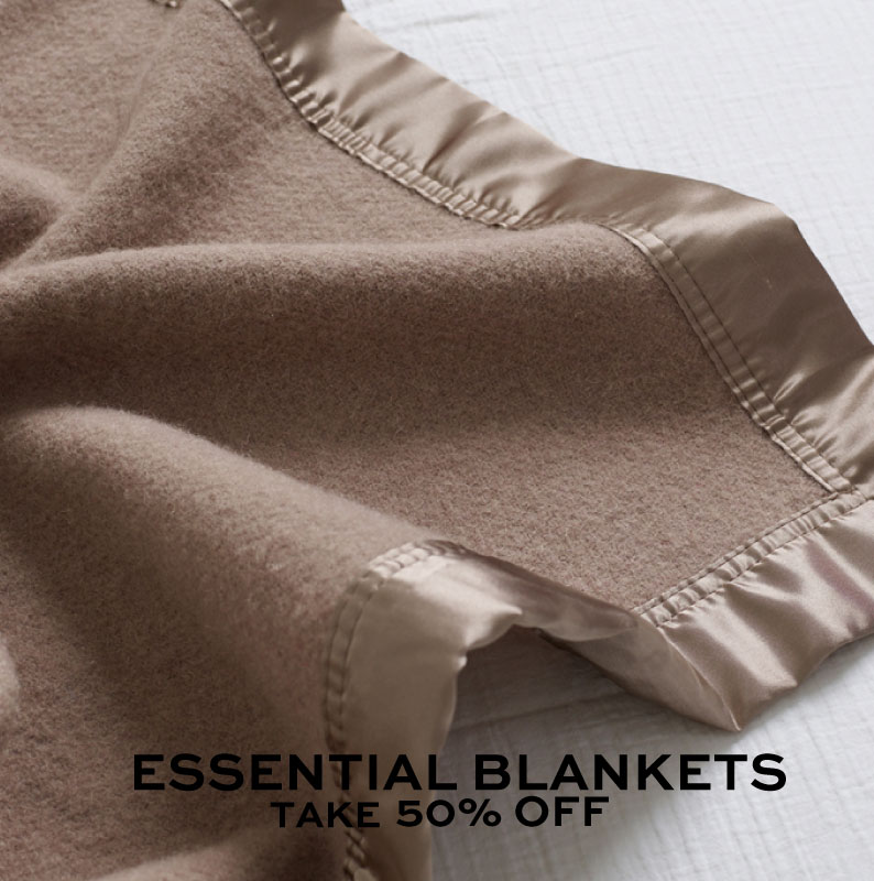 Shop Essential Woollen Blankets