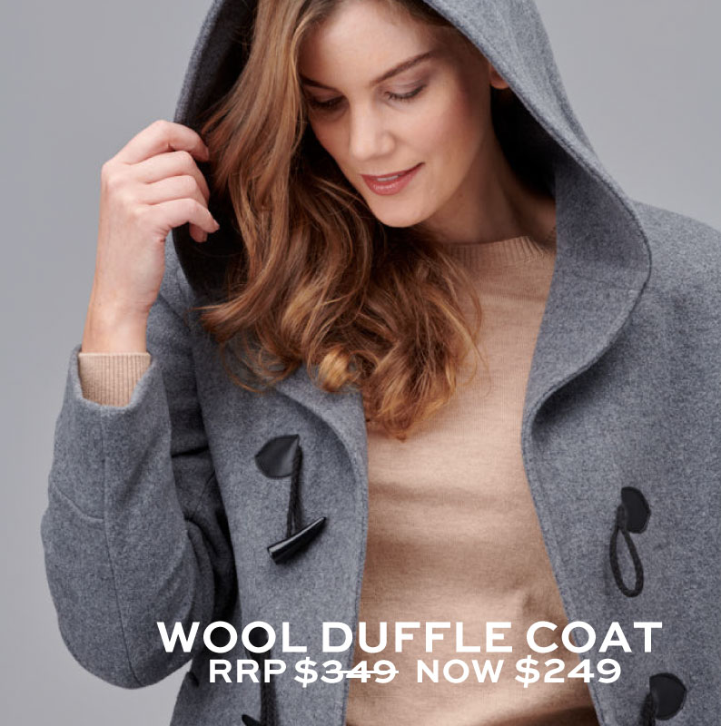 Shop Woollen Duffle Coats